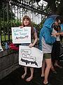 BP Oil Spill Protest Jax Square Sunshine.JPG