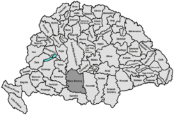 Location of Bács-Bodrog