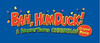 Bah, Humduck! A Looney Tunes Christmas - The Bah, Humduck! logo, as seen on the DVD cover.