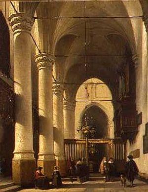 Johannes Bosboom - Image: Bakenesserkerk 1870