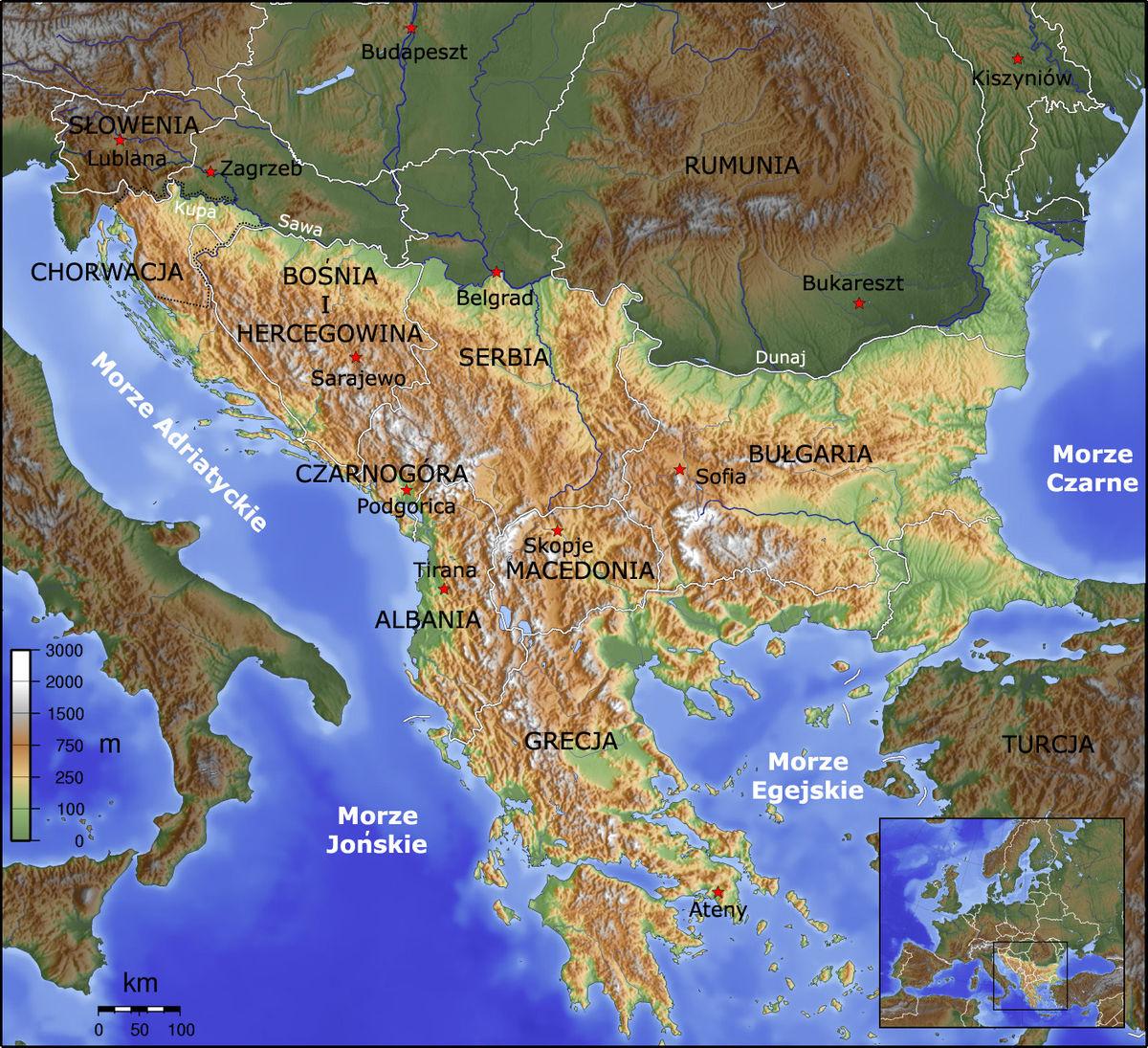 Balkany Wikipedia Wolna Encyklopedia