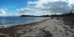 Balnarring Beach, Victoria - Balnarring Beach in April