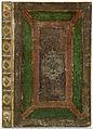 Band van perkament, grotendeels groen, rood en bruin beschilderd-KONB12-41C14.jpeg