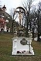 Banská Štiavnica - Kalvária - súsošie - Ukrižovanie a Sedembolestná Panna Mária.JPG