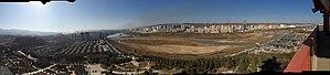 Baoji - Image: Baoji Jintai across Weihe