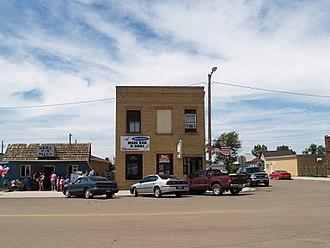 Scranton, North Dakota - Scranton's business district