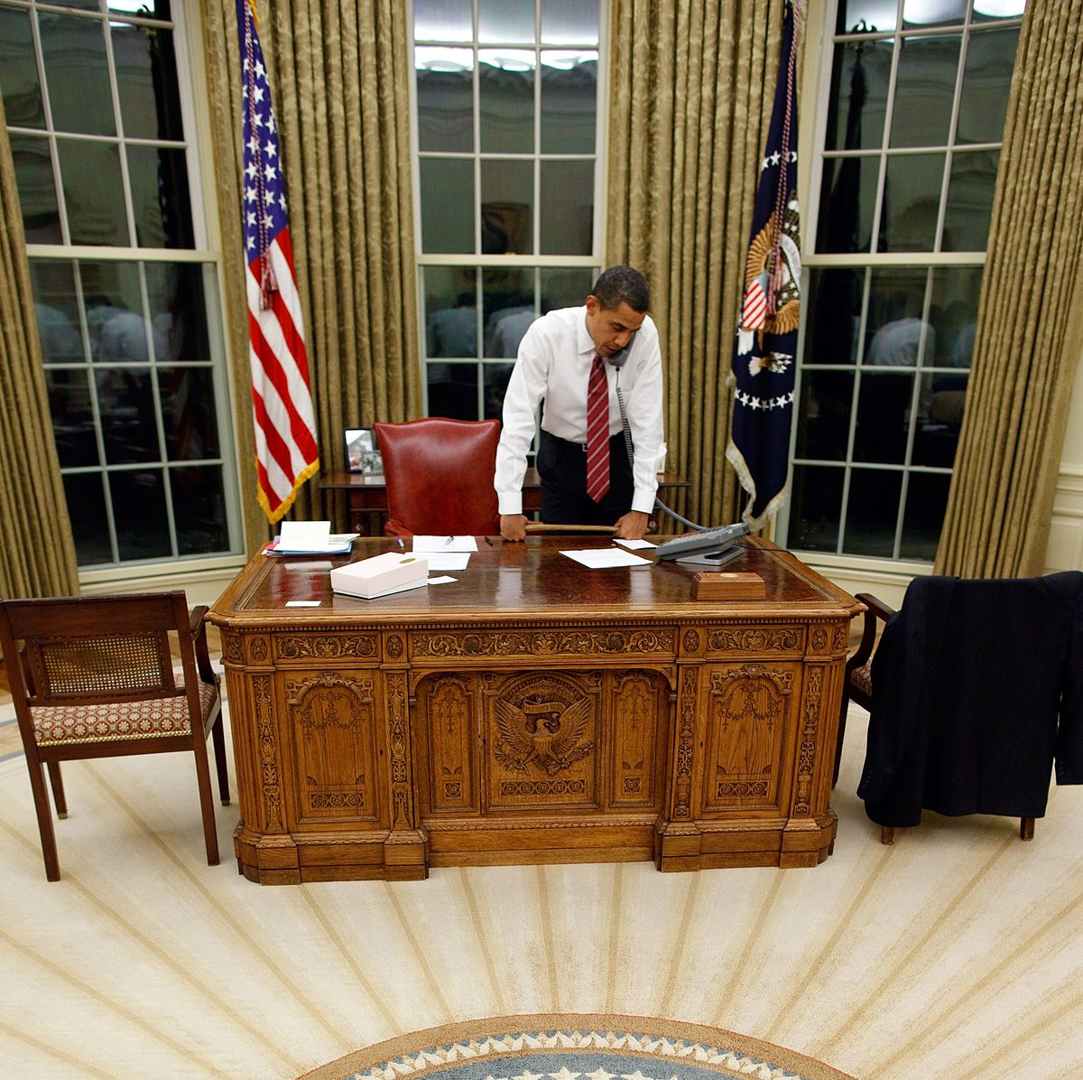 Obama Resolute Desk Resolute Desk Wikip 233 Dia
