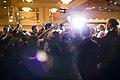Barack Obama greets attendees after making remarks in Washington, D.C., Feb. 4, 2010.jpg