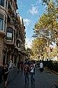 Barcelona - Passeig de Gràcia - View NW III.jpg