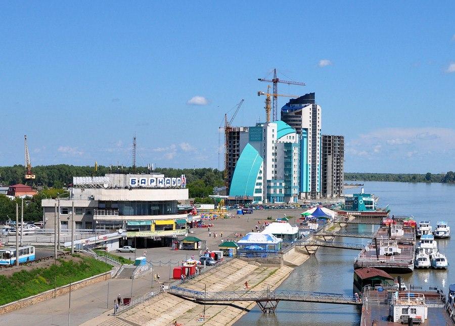 Barnaul River Port