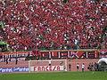 Barra Brava Gurkas del Club Wilstermann de la ciudad de Cochabamba en Bolivia..jpg