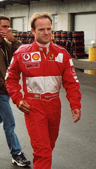 2004 Formula One World Championship - Rubens Barrichello finished second for the Scuderia.
