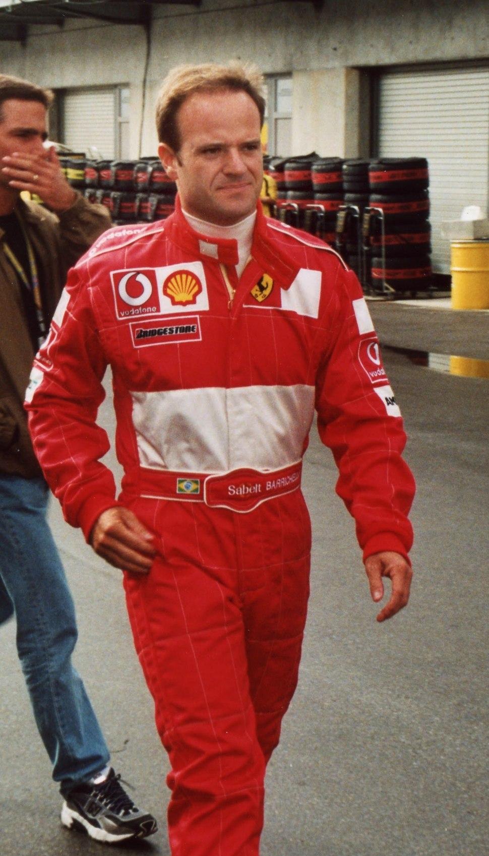 Barrichello 2002
