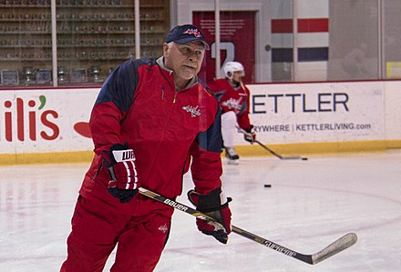 752af817e Barry Trotz at the Capitals practice at Kettler Capitals Iceplex. Trotz  guided the Capitals to