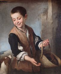 Bartolomé Esteban Murillo: Boy with a Dog