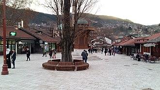 Baščaršija - Image: Bascarsija 2016