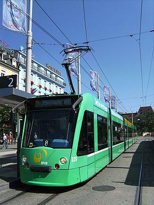 Combino - Combino Tram in Basel