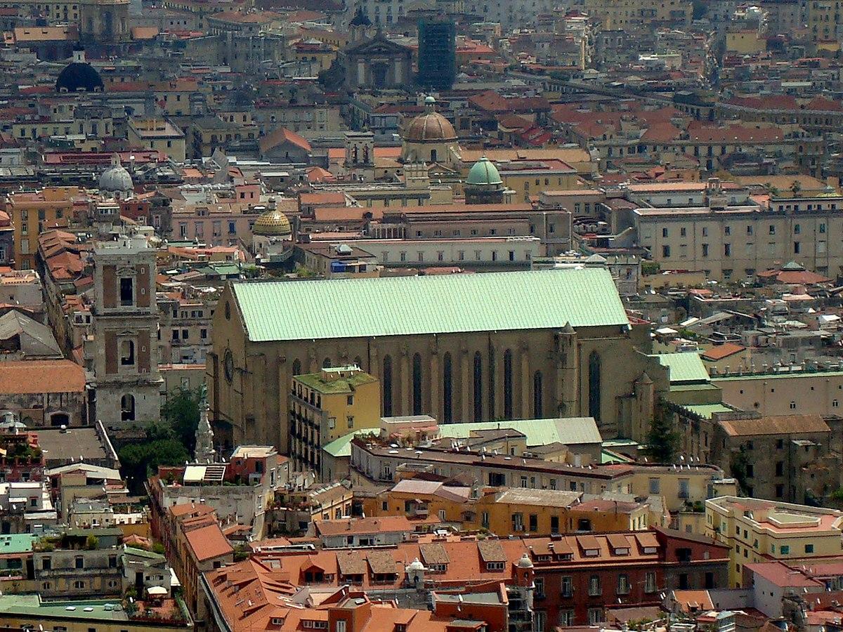 Basilika Santa Chiara Neapel Wikipedia