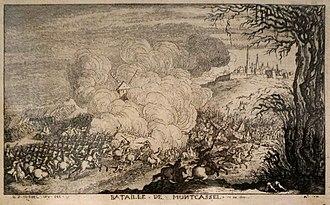 Battle of Cassel (1677) - Image: Bataille Mont Cassel 613