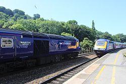 Bath Spa - FGW 43041 passing 43190.jpg