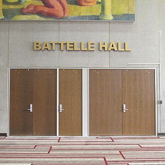 Battelle Hall - Image: Battelle Hall 1