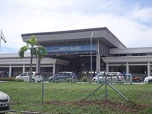 Batu Gajah - Batu Gajah railway station