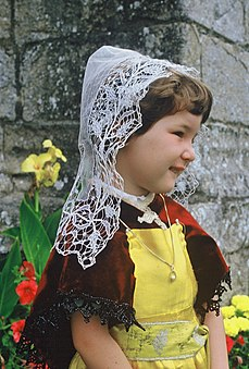 A Breton headdress from Batz-sur-Mer