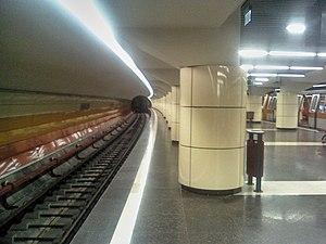 Bucharest Metro Line M4 - Parc Bazilescu station