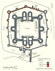 Beaumaris_Castle on Castle Floor Plan Designs