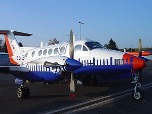 Beech B200T Super King Air, Aerodata Flight Inspection AN0559316.jpg