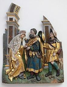 Joaqu n y ana se encuentran ante la puerta dorada for Puerta jakober augsburgo