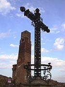Belchite - Torre del reloj02.JPG