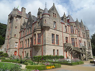 Belfast Castle Castle on the slopes of Cavehill Country Park, Belfast, Northern Ireland