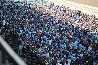Belmont Stakes - The crowd packs the facility when a Triple Crown is on the line