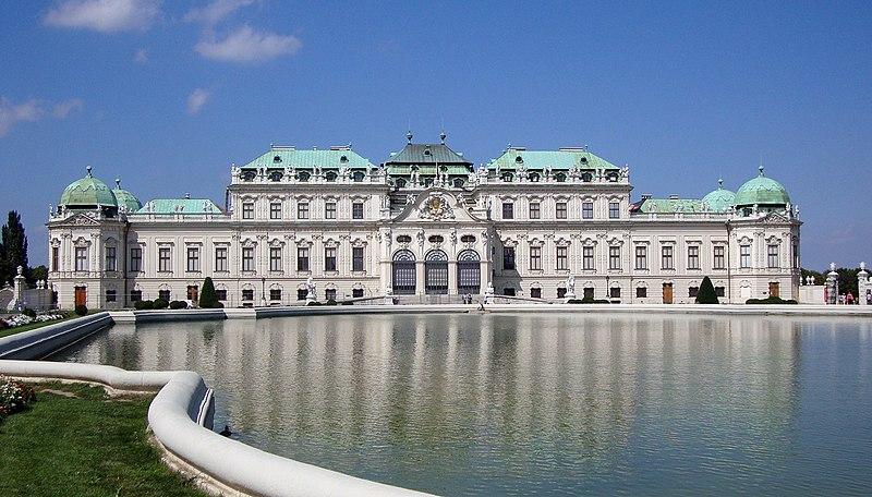 Belveder - widok od frontu - Vienna.jpg