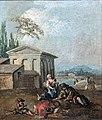 Bemberg Fondation Toulouse - Personnages devant un temple - Francesco Zuccarelli - inv 1146.jpg