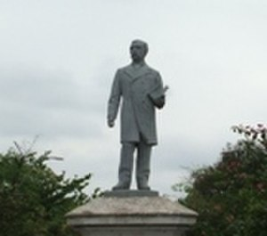 Benjamín Aceval -  Monument of Benjamin Aceval