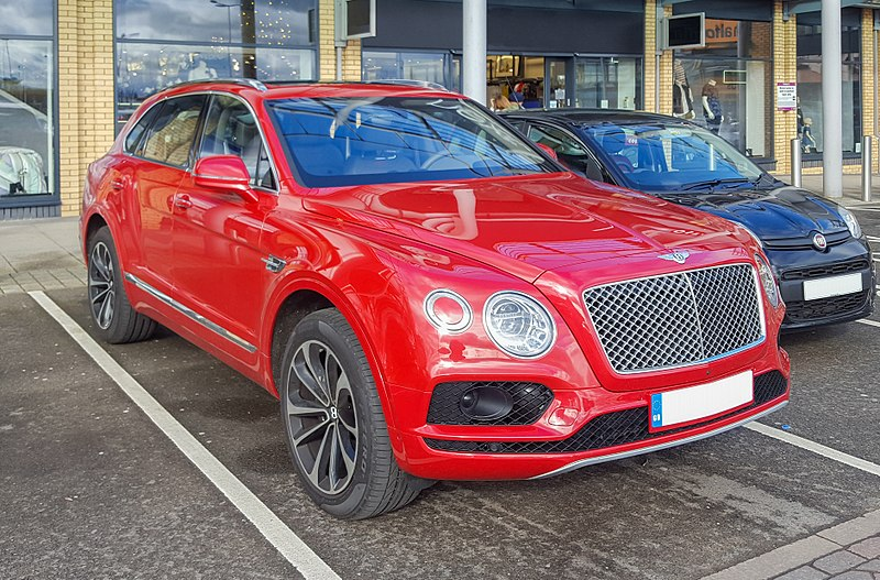 File:Bentley Bentayga 2015 - front.jpg