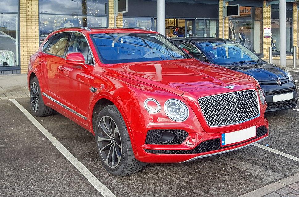 Bentley Bentayga 2015 - front