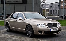 Bentley Continental Flying Spur Speed – Frontansicht (2), 5. April 2012, Düsseldorf.jpg