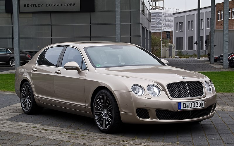 File:Bentley Continental Flying Spur Speed – Frontansicht (2), 5. April 2012, Düsseldorf.jpg