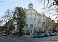 Berlin Niederschönhausen Dietzgenstraße 43-45 (09030223), Eckfassade.JPG