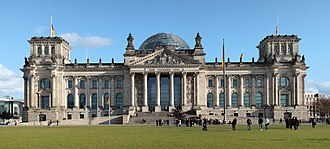 Mitte - Image: Berlin reichstag west panorama