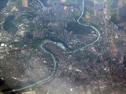 Bern aerial view 2009