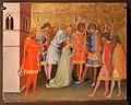 Bernardo daddi, santa reparata preparata per l'esecuzione, 1340 ca. (met).jpg