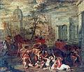 Bertholet Flemalle, Le massacre des Innocents, Musée des Beaux-Arts, Liège, Belgium.jpg