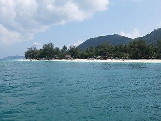 Besar Island, Johor - Image: Besar Island