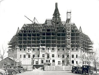 Delta Bessborough - Construction of the Bessborough, 1931