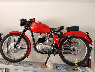 Beta (motorcycle manufacturer) - Beta 160 Vulcano Sport, 1955