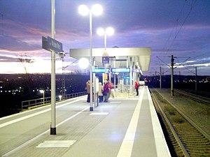 Köln-Weiden West station - Image: Bf k weidenw